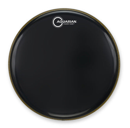 "Aquarian 20"" clear black drum head"