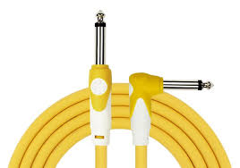 Kirlin 6 Meter lightgear straight-angle instrument cable. Available in black,yellow,green,blue and red