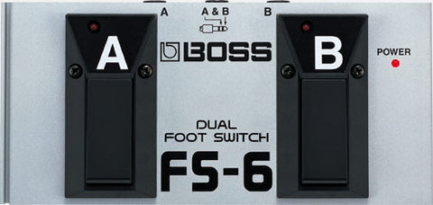 Boss dual foot switch FS-6