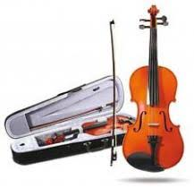 Mason Violin outfit 4/4 size includes case. Solid spruce top