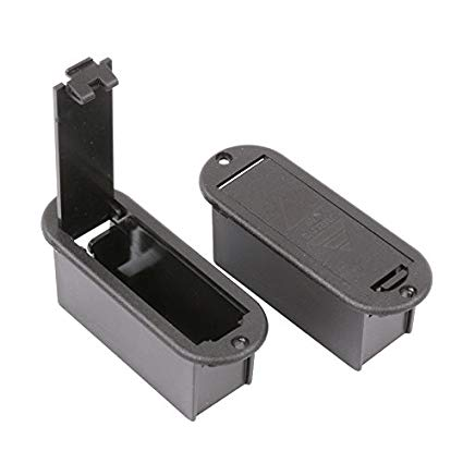 battery box for active guitars and basses