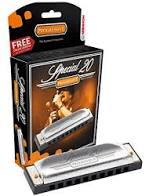 Hohner special 20's country tuning harmonica in the key of D or standard tuning G