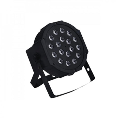 Hybrid HSS18.1 LED Slim Stage Spot 18x 3W