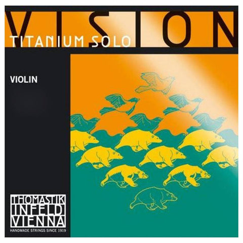 Thomastik titanium vision violin string set