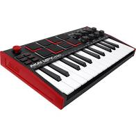 Akai-MPK Mini 3 V3 compact usb/midi controller with 25 mini keys + MPC drum pads
