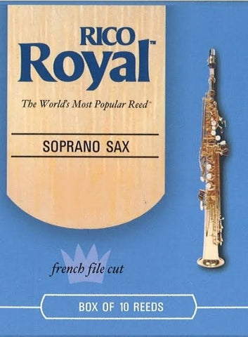 Rico Royal Soprano Saxophone Reed Priced per Each