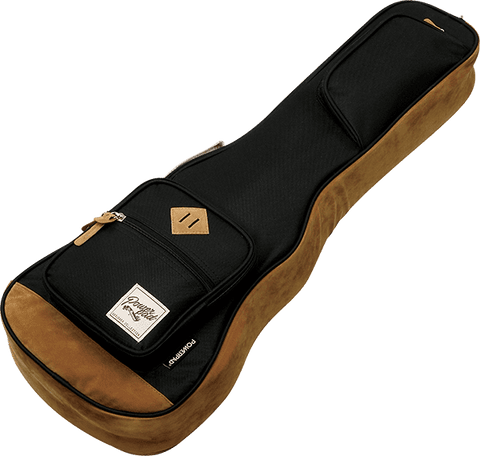 Ibanez ukulele bags in various colours and sizes
