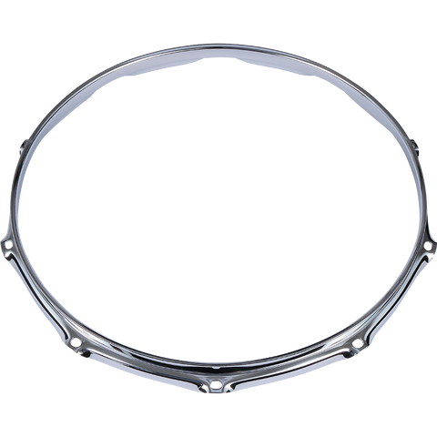 "Tama steel 14"" mighty hoop 8 or 10 hole in both batter and resonant side"