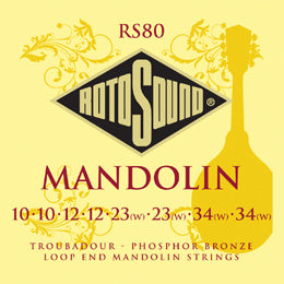 Rotosound mandolin strings RS80