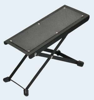 Guitar foot stool black