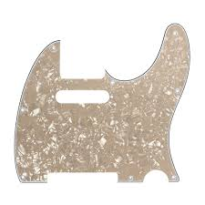 D'Andrea Scratchplate Tele red pearl, black sparkle or vintage pearl