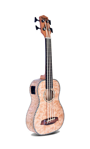 Smiger/Grape ukulele Ubass includes padded bag
