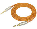 Kirlin 3 Meter woven instrument cable .