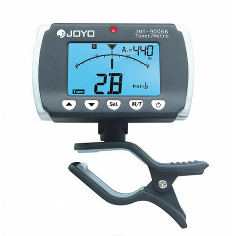 Joyo clip-on backlit metronome and tuner JO-JMT-9006B
