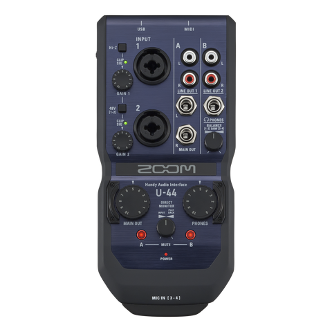 Zoom handheld 4 Channel Audio Interface