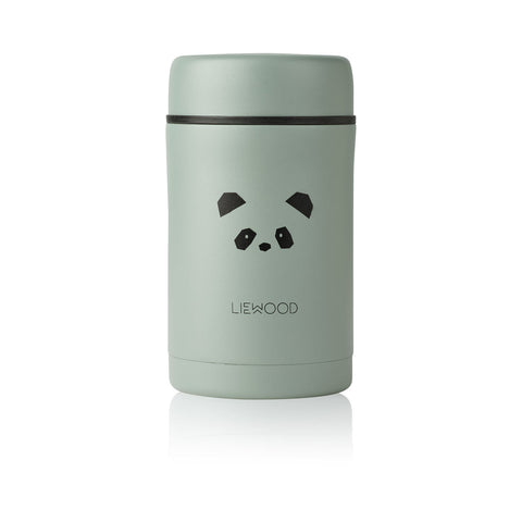 Liewood Bernard Food Jar - 500 ml Tableware 7387 Panda peppermint