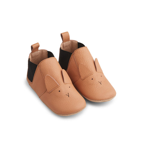 Liewood Edith Leather Slippers Shoes 2072 Rabbit tuscany rose