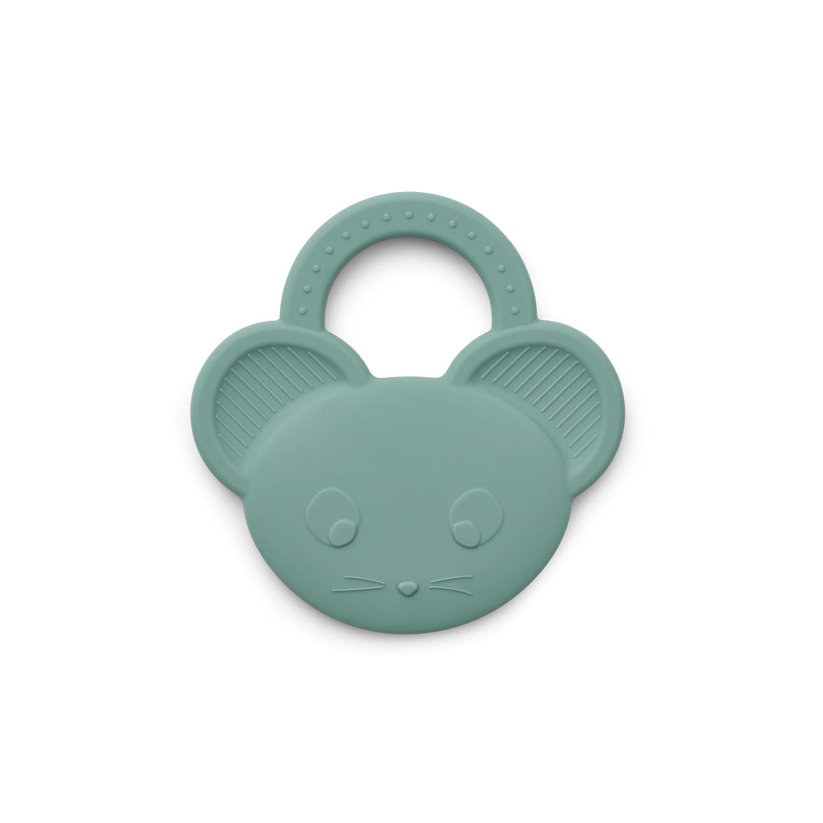 Liewood Gemma Silicone Teether Teether 9542 Mouse peppermint