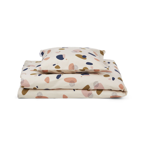 Liewood Ingeborg Bed Linen Junior Bedding 0268 Bubbly sandy