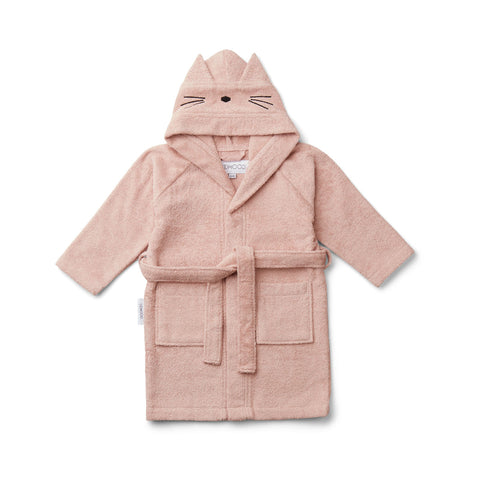 Liewood Lily Bathrobe Bathrobe 0022 Cat rose