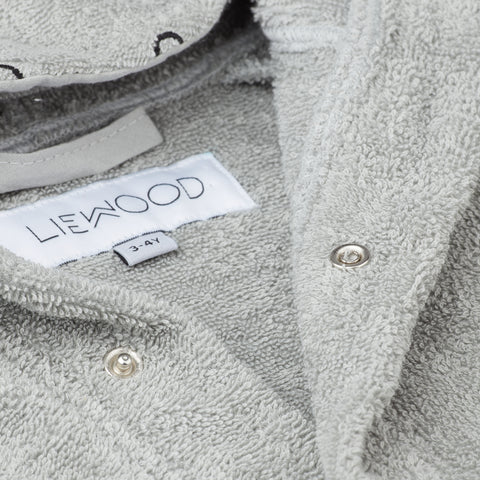 Liewood Lily Bathrobe Bathrobe 0032 Rabbit dumbo grey