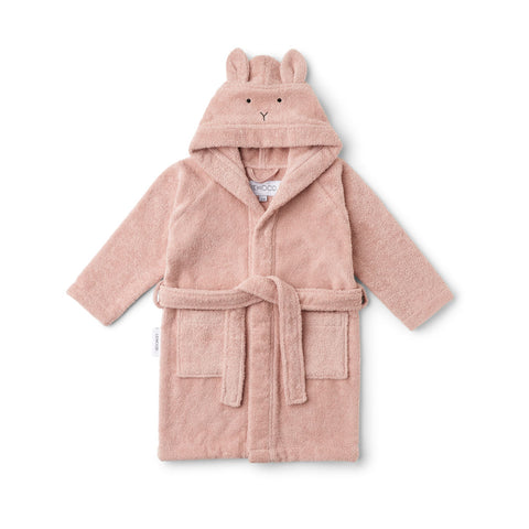 Liewood Lily Bathrobe - Rabbit rose - Bathrobe