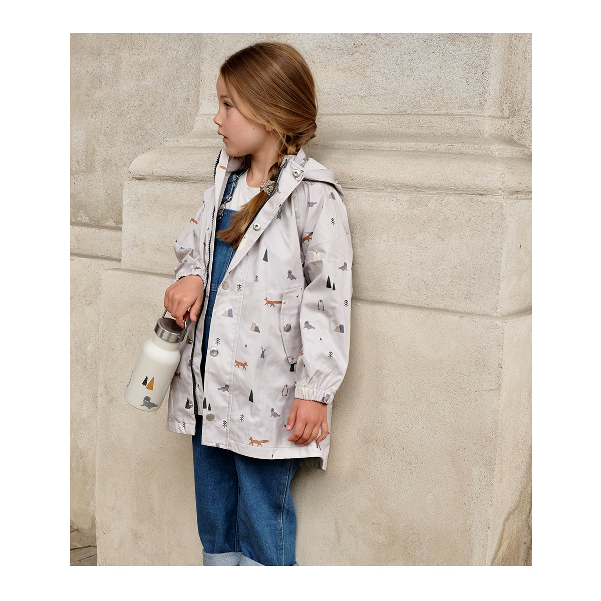 Liewood Spencer Long Raincoat - Junior Rainwear 0291 Arctic mix