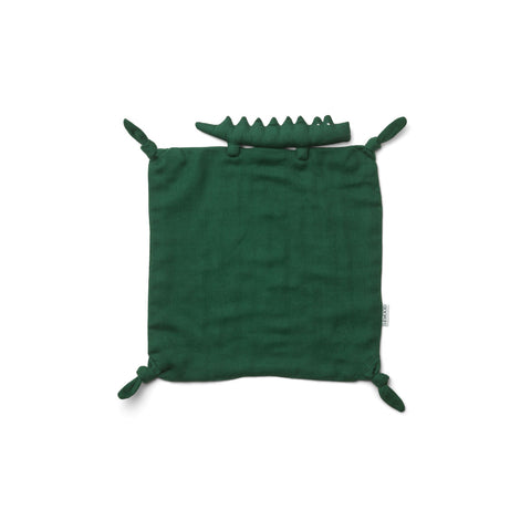 Liewood Agnete Cuddle Cloth Doll/Teddy 7364 Crocodile garden green