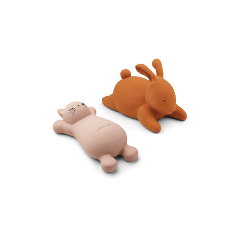 Liewood Vikky Bath Toys 2 Pack Toys 0022 Cat rose