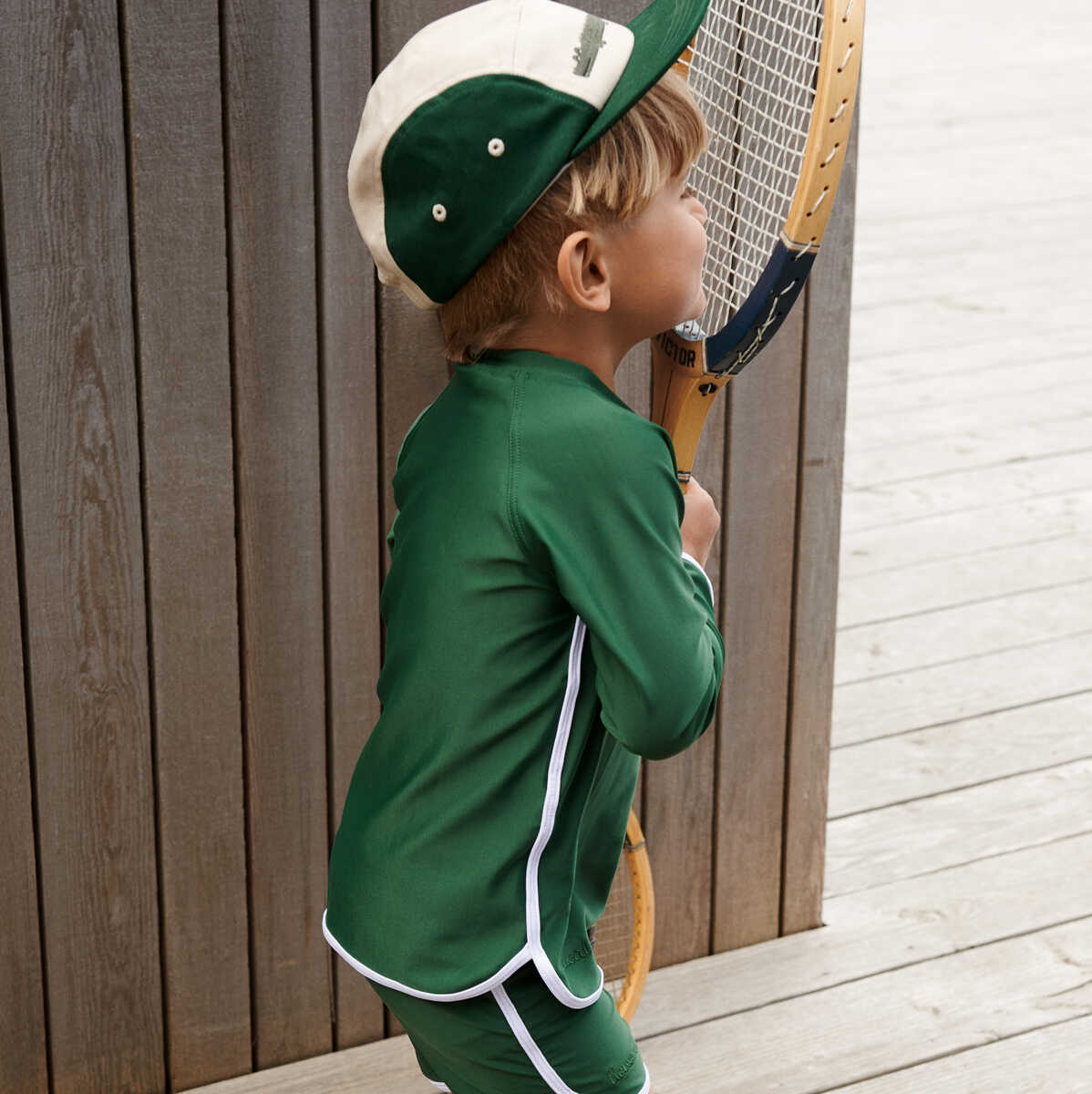 Liewood Rory Cap Hat/cap 7365 Crocodile garden green mix