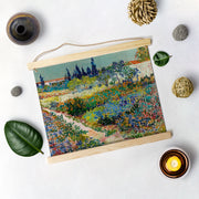 Garden By Van Gogh Hanging Canvas