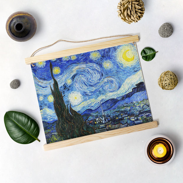 Starry Night By Van Gogh Hanging Canvas