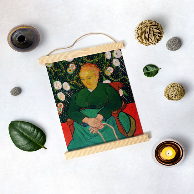 La Berceuse By Van Gogh Hanging Canvas