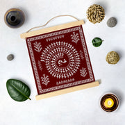 Warli Painting Hanging Canvas - Meri Deewar