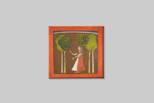 Ragini-possibly-Asavari-Folio-from-a-Ragamala Canvas