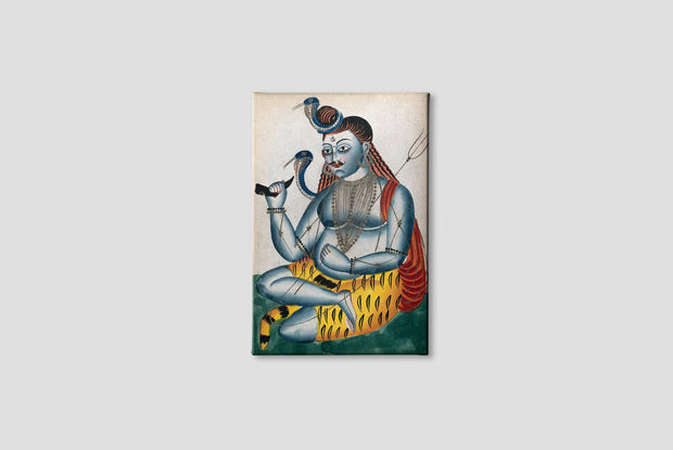 Shiva-and-his-symbols Canvas