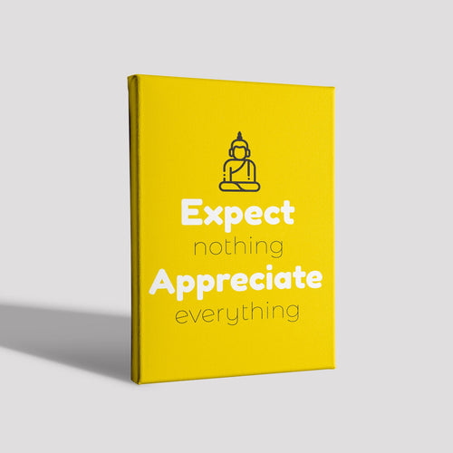 Expect nothing_Poster Canvas