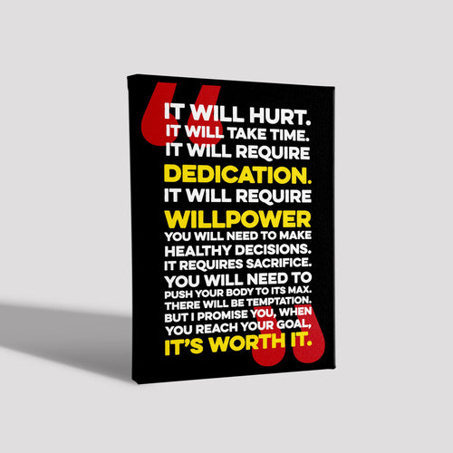 It will hurt_Poster Canvas