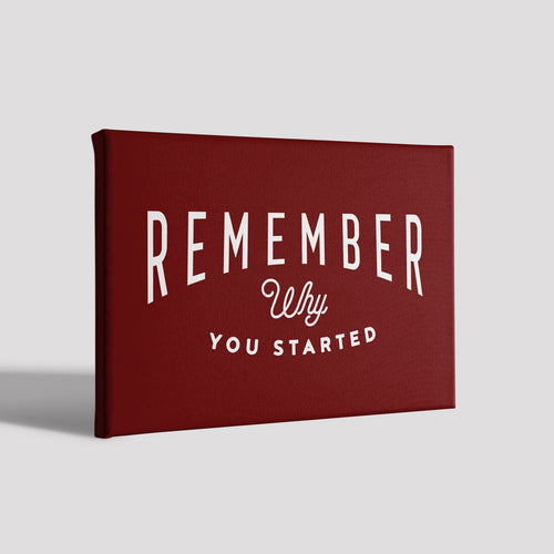 Remember_Poster Canvas