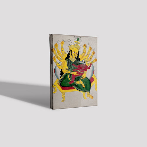 Parvati-enthroned-nursing-Ganesha  Canvas