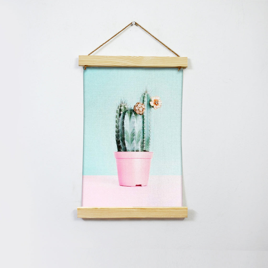 Cactus Hanging Canvas