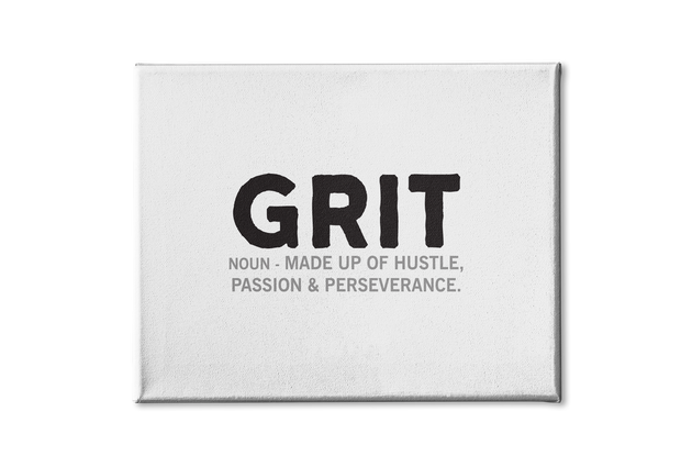 Grit Poster Canvas