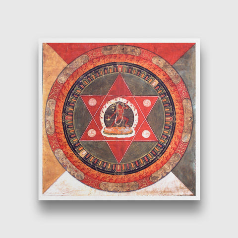 Set of 3 Print by Manjit Bawa