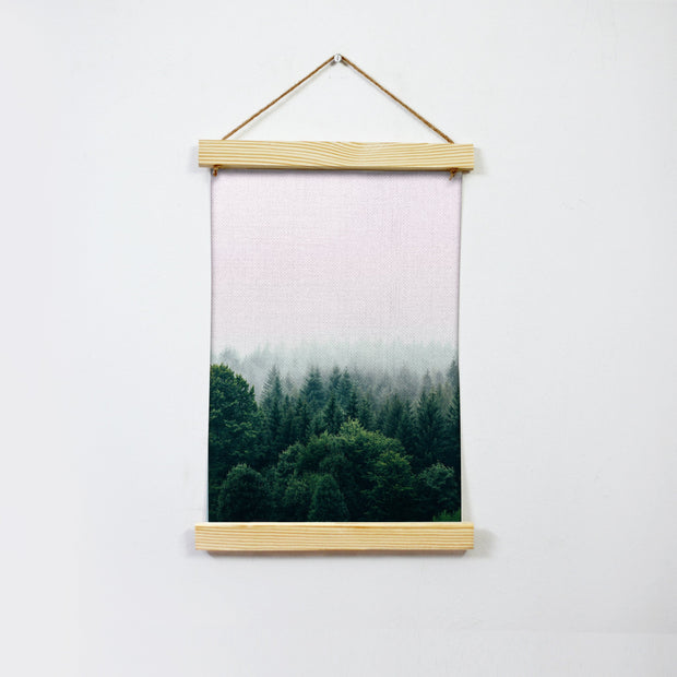 The Pine Woods Hanging Canvas