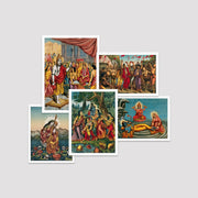 Set of 5 Print- Indian God Collection