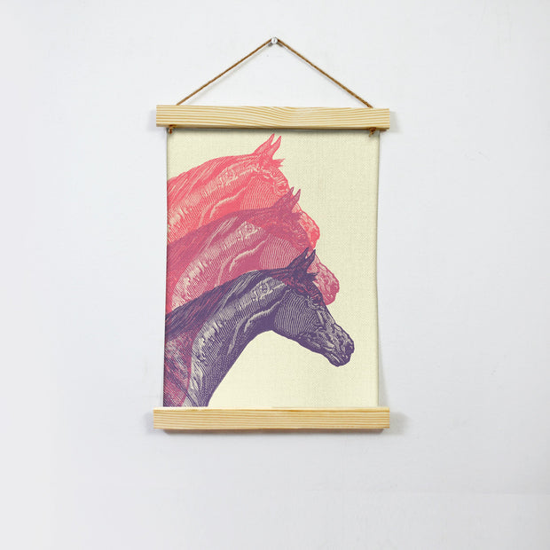 Horse Art Hanging Canvas