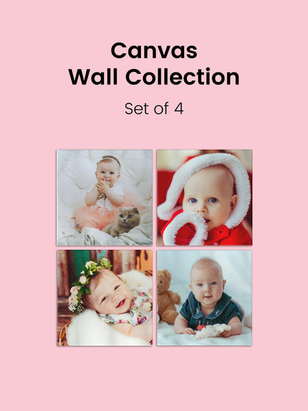 Canvas Wall Collection - Four