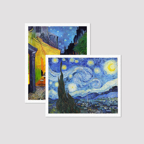 Set of  2 Print Van Gogh
