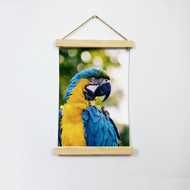 Colourful Parrot Hanging Canvas