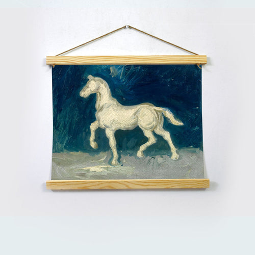 The White Beauty By Van Gogh Hanging Canvas